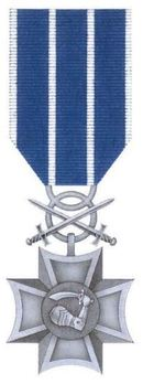 Silver Cross (with swords) Obverse