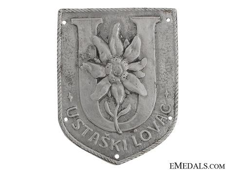 Aluminum Arm Badge Obverse