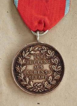 Honour Decoration for the Flood, 1882-1883