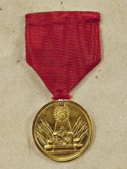 Military Merit Medal in Gold