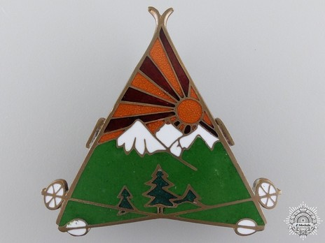 Mountain Units Badge Obverse