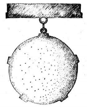Decoration for Sport Champions Reverse