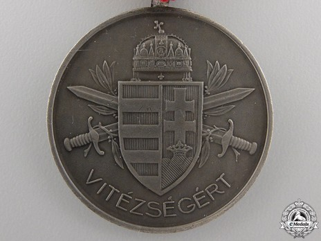 Bravery Medal, Silver Medal Obverse