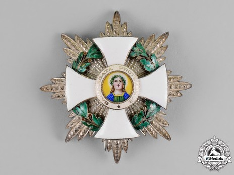 Order of Saint Agatha, Grand Officer Breast Star Obverse