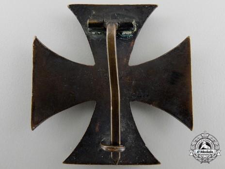 War Merit Cross, I Class Reverse