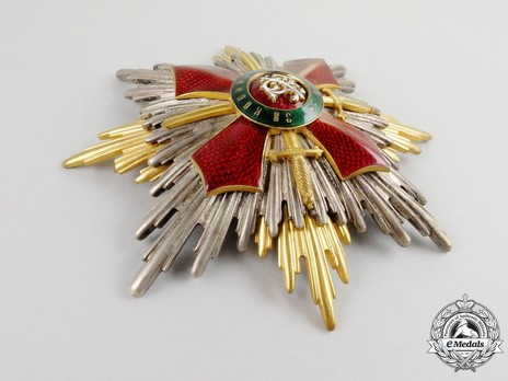 Order of Military Merit, I Class Breast Star Obverse
