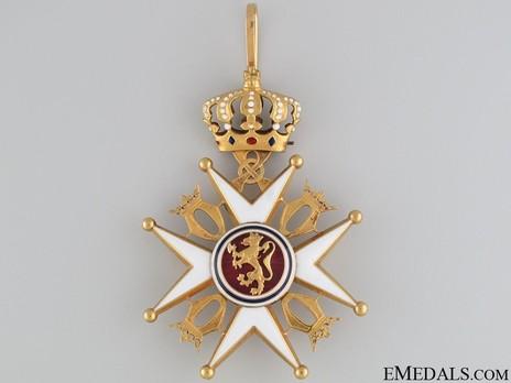 Order of St. Olav, II Class Commander, Civil Division Obverse