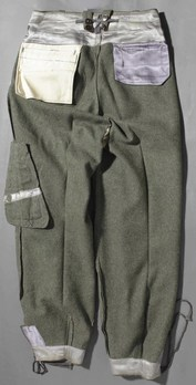 Luftwaffe Early Pattern Paratrooper Trousers Reverse Inside Out