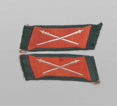 German Army Cossack NCO/EM Tabs Obverse