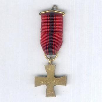 Miniature Cross of Karelia Reverse