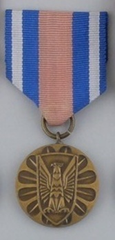 Medal for Merit in the Protection of Public Order, III Class Obverse
