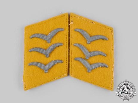 Luftwaffe Flying Troops Obergefreiter Collar Tabs Obverse