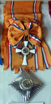 Grand Cross Star and Badge