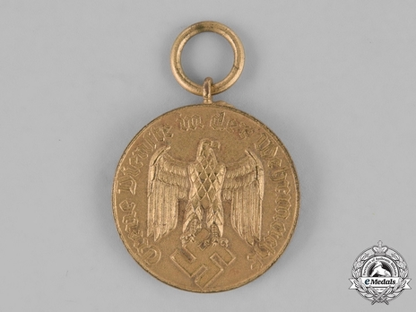 III Class for 12 Years Obverse