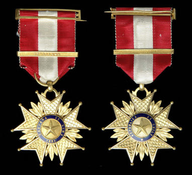 Star for the Lima Campaign, I Class  Obverse and Reverse
