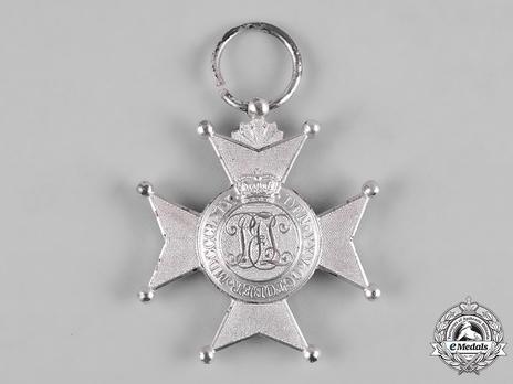 House Order of the Honour Cross, Type II, Merit Cross in Silver Reverse
