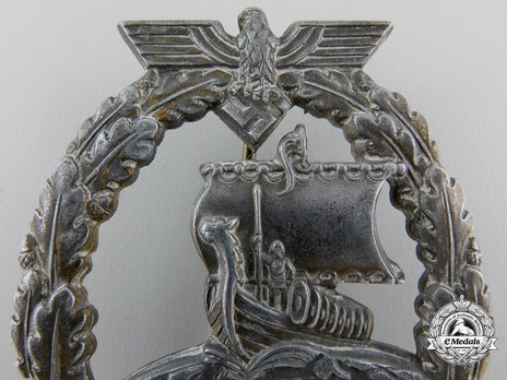 Naval Auxiliary Cruiser War Badge, by F. Orth Detail