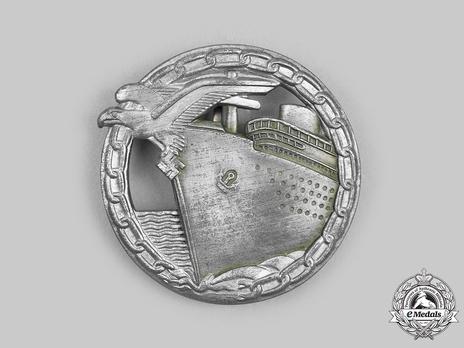 Blockade Runner Badge, by B. H. Mayer