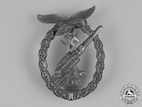 Luftwaffe Flak Badge, by F. Linden Obverse