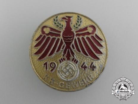 Tyrolean Marksmanship Gau Achievement Badge, Type VII, for Small Calibre Rifle Obverse