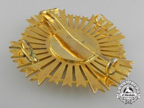 Royal Order of Sahametrei, Grand Cross Breast Star Reverse