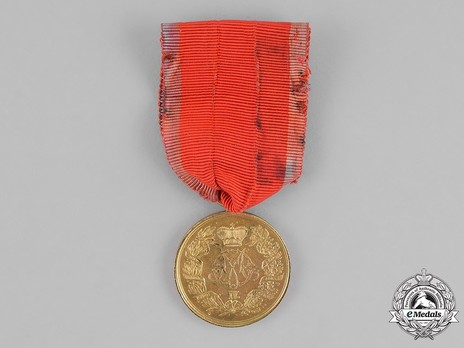 Commemorative Medal for the Serbo-Turkish War 1876-1878, Type II, in Silver Obverse
