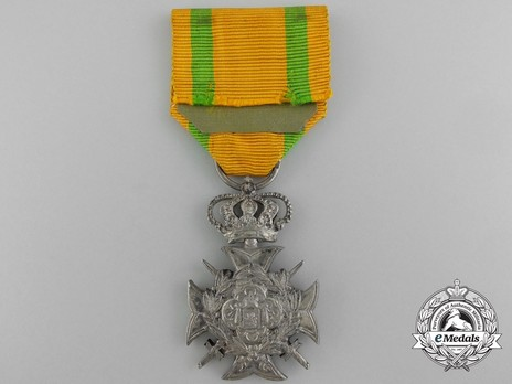 I Class Cross (for Non-Commissioned Officers and Soldiers, for 30 Years, 1882-) (by François Wunsch) Reverse