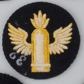 Kriegsmarine Enlisted Men Coastal Artillery Insignia Reverse