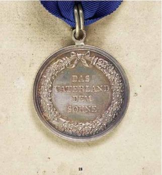 Civil Merit Medal, in Silver