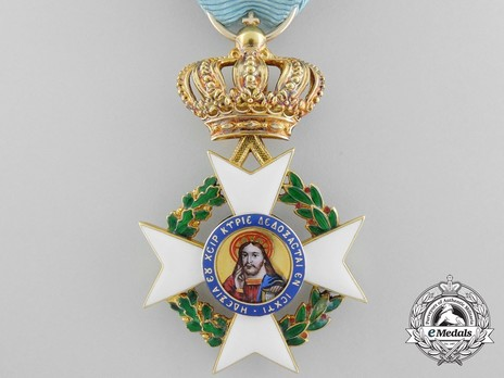 Order of the Redeemer, Type II, Knight's Cross, in Gold Obverse