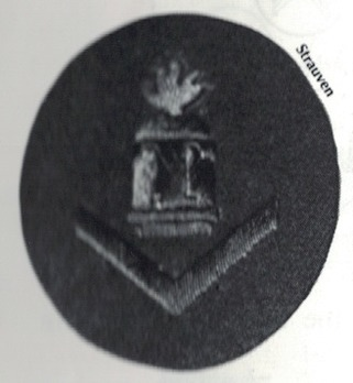 Kriegsmarine Gun Chief T Insignia Type I (under 3 years) Obverse