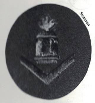 Kriegsmarine Gun Chief T Insignia Type I (under 3 years) Obverse