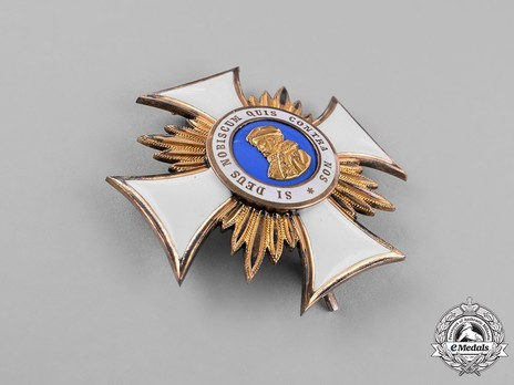 Commander Breast Star (with golden rays) Obverse