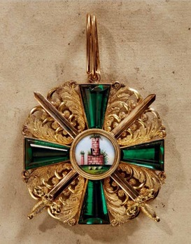 Order of the Zähringer Lion, Grand Cross with Swords (in silver gilt)