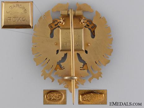 Order of Fidelity, Type II, Officer's Cross Reverse