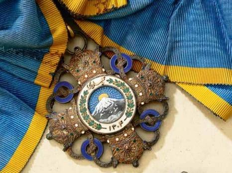 Order of Pahlavi, I Class Grand Collar Badge of Honour