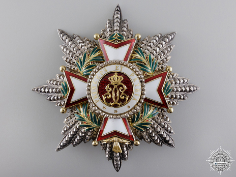 Grand Cross Breast Star (Gold by Halley) Obverse