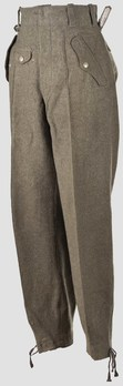 Luftwaffe Early Pattern Paratrooper Trousers Obverse