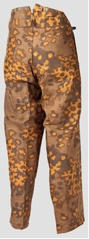 Waffen-SS Camouflage Trousers M44 (early version) Reverse