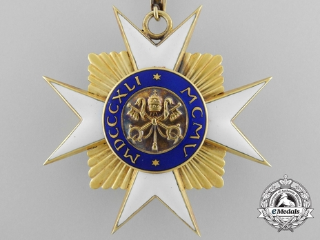 Order of St. Sylvester Commander (with gold) Reverse