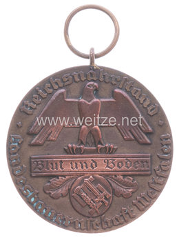 State Farmers' Group Westphalia Badge, Medal for Special Achievement in Breeding Obverse