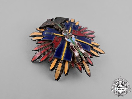 Order of the Golden Kite, II Class Breast Star Obverse