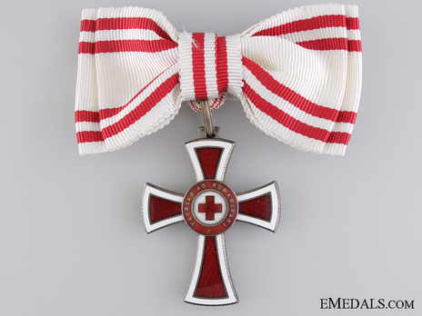 Civil Division, II Class Cross (for Women) Obverse