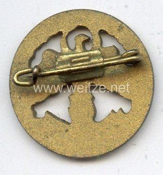 Tyrolean Marksmanship Gau Master Shooting Badge, Type IV (small version) Reverse