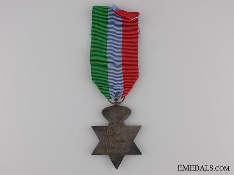 Bronze Star (Army, 1946-1983) Reverse