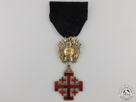 Equestrian Order of Merit of the Holy Sepulcher of Jerusalem (Type II) Knight (for Men, 1907-Present) Obverse