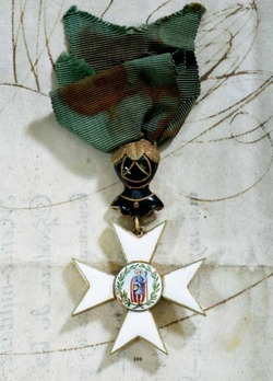 Order of St. Joachim, Grand Commander Cross (in gold)