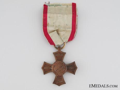 Veterans' Campaign Cross, 1790-1812 Obverse