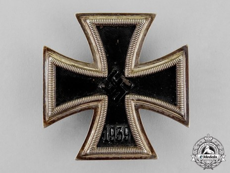 Iron Cross I Class, by F. Zimmermann (6.) Obverse