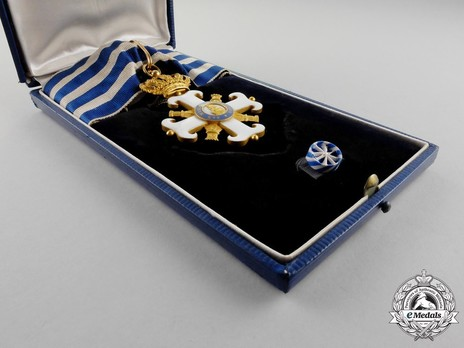 Order of San Marino, Type I, Civil Division, Commander Case